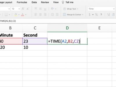 Time in Excel