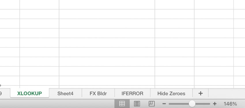 Zoom Excel