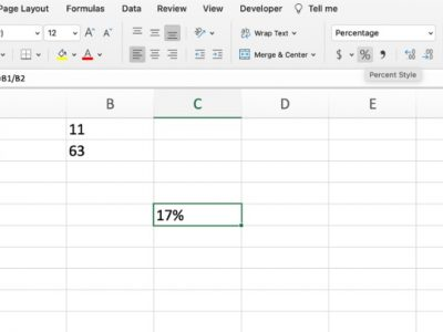 False discovery rate in Excel