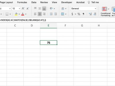 How to make a coalesce function in Excel